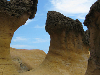 Rock Formations At Yeliu