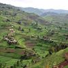 Rolling Cultivated Hillsides Of Uganda