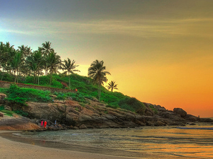 Romantic Honeymoon In Kerala Photos