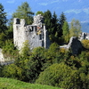 Ruin Of Castle Ortenburg, Baldramsdorf, Austria