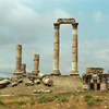 Ruins Of The Roman Temple Of Hercules On Citadel Hill