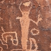 Detail Of A Barrier Canyon Style Figure