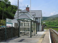 Roman Bridge Railway Station
