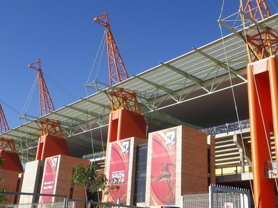 Roof Supports Of  Mbombela  Stadium In  Nelspruit