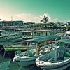 Sabah Semporna Boats In Harbour