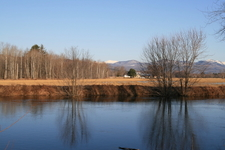Saco River And White Mountains
