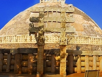 Sanchi Great Stupa