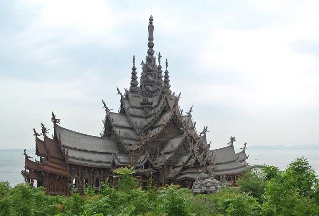 Sanctuary of Truth Pattaya Half Day Tour Photos
