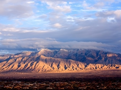 Sandia Mountains - East Of Albuquerque NM