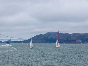 San Francisco Bay Sailing Cruise Photos