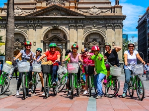 Santiago Markets: Morning Bike Tour Photos
