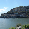 Sausalito Combines Hillside With Shoreline As Seen In This View