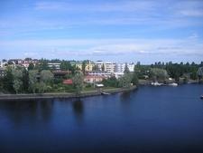 Savonlinna Town View From Olavinlinna Castle - Finland