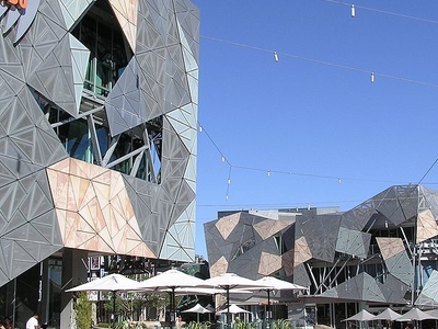 SBS Studios At Federation Square