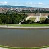 Schonbrunn With Vienna In The Background