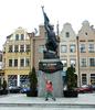 Sculpture Of Polish Soldier In Market Place - Grudziądz.