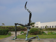 Manx Triskelion Sculpture - Isle Of Man