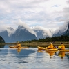 Sea Kayaks @ Milford Sound - Fiordland - Southland NZ