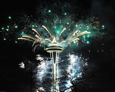 Seattle - Space Needle - 2011 New Year Celebration