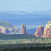 Red Rocks Of Sedona From I-17 Munds Park