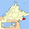 Semporna Location