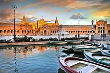 Seville Plaza De Espana - Andalusia Spain