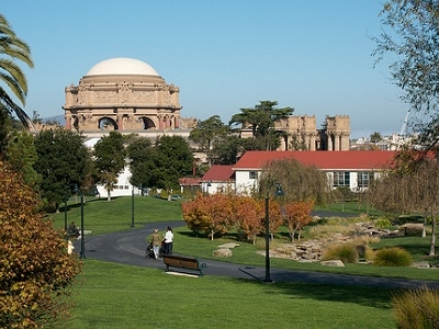 SF Palace Of  Fine  Arts Landscape