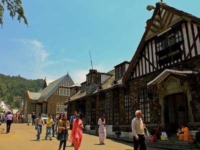 Shimla HP Street View