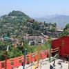 Shimla School & Town View - Himachal Pradesh