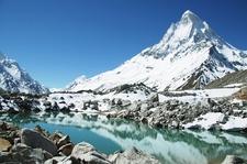 Shivling Peak & Lake In Uttarakhand