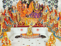 Shree Radha Ras Bihari Ashta Sakhi Temple