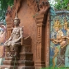 Shrine Outside Of Wat Phnom
