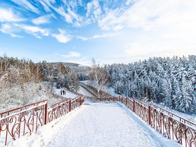 Siberia Winter Scenery - Russia