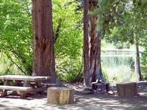 Sierra Ward Lake Campground