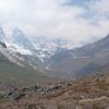 Sikkim - Looking Up Thangu Valley