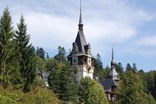 Sinaia Castelul Peleș Towers