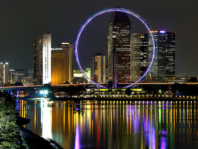 Singapore Flyer - Downtown