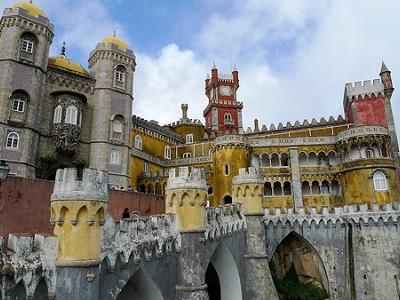 Sintra Pena National Palace - Portugal