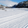 Ski Tracks In Sirdal