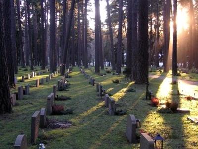 Skogskyrkogården Grav