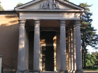 Skogskyrkogarden Resurrection Chapel