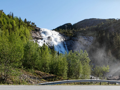 Skrøyvstad Waterfall