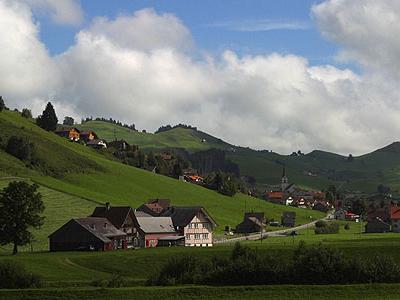 Skyline Of Gonten District