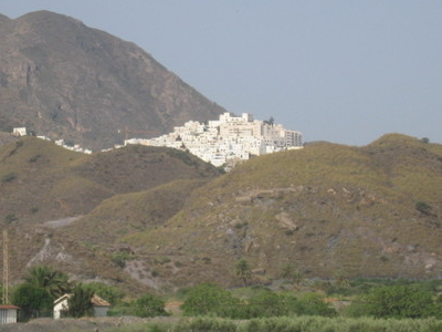 Skyline Of Mojcar