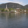 Skyline Of Mont Saint Hilaire Quebec