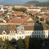Skyline Of Bistrita