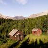 Slide Lake-Otatso Creek Patrol Cabin And Woodshed - Glacier - USA