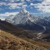 Solukhumbu Cho La Pass In Gokyo Nepal