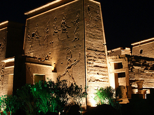 Sound & Light at Philae Temple Photos