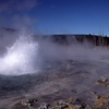 Spouter Geyser - Yellowstone - USA